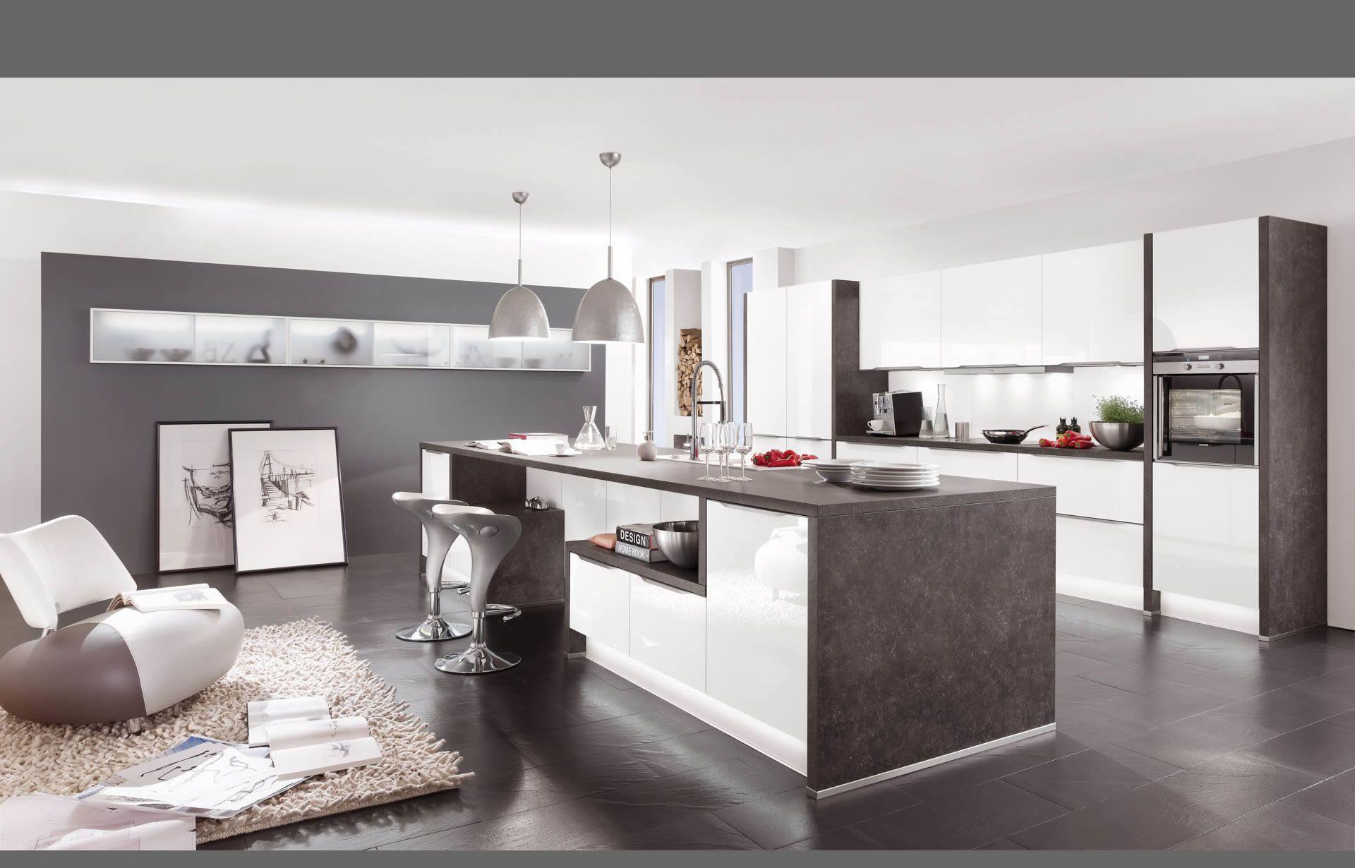 nobilia Küche - dunkel grauer Boden | Küche & Esszimmer ...