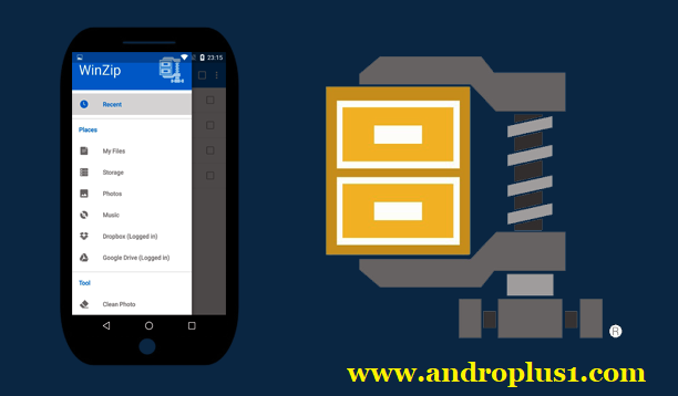 تنزيل تطبيق Winzip Android Apk لفك ضغط الملفات وإدارتها على هاتفك الذكي مع العديد من المميزات للأندرويد 2020 Electronic Products Android Apk App