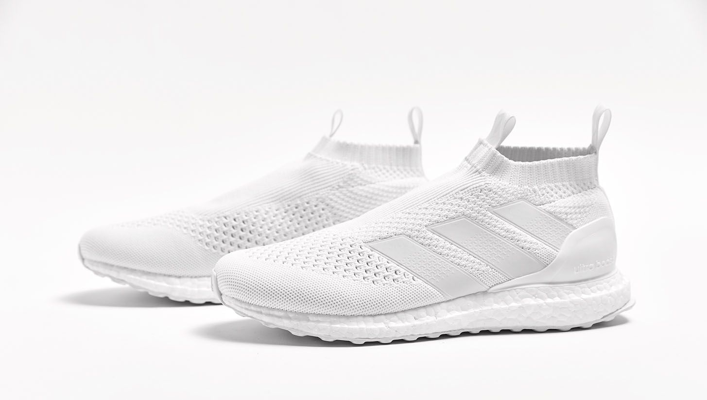 Triple White Adidas Ace 16+ PureControl Ultra Boost Released