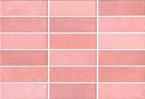 wasel essen rosa 23x335cm revestimiento pasta blanca vives - Azulejos Rosa