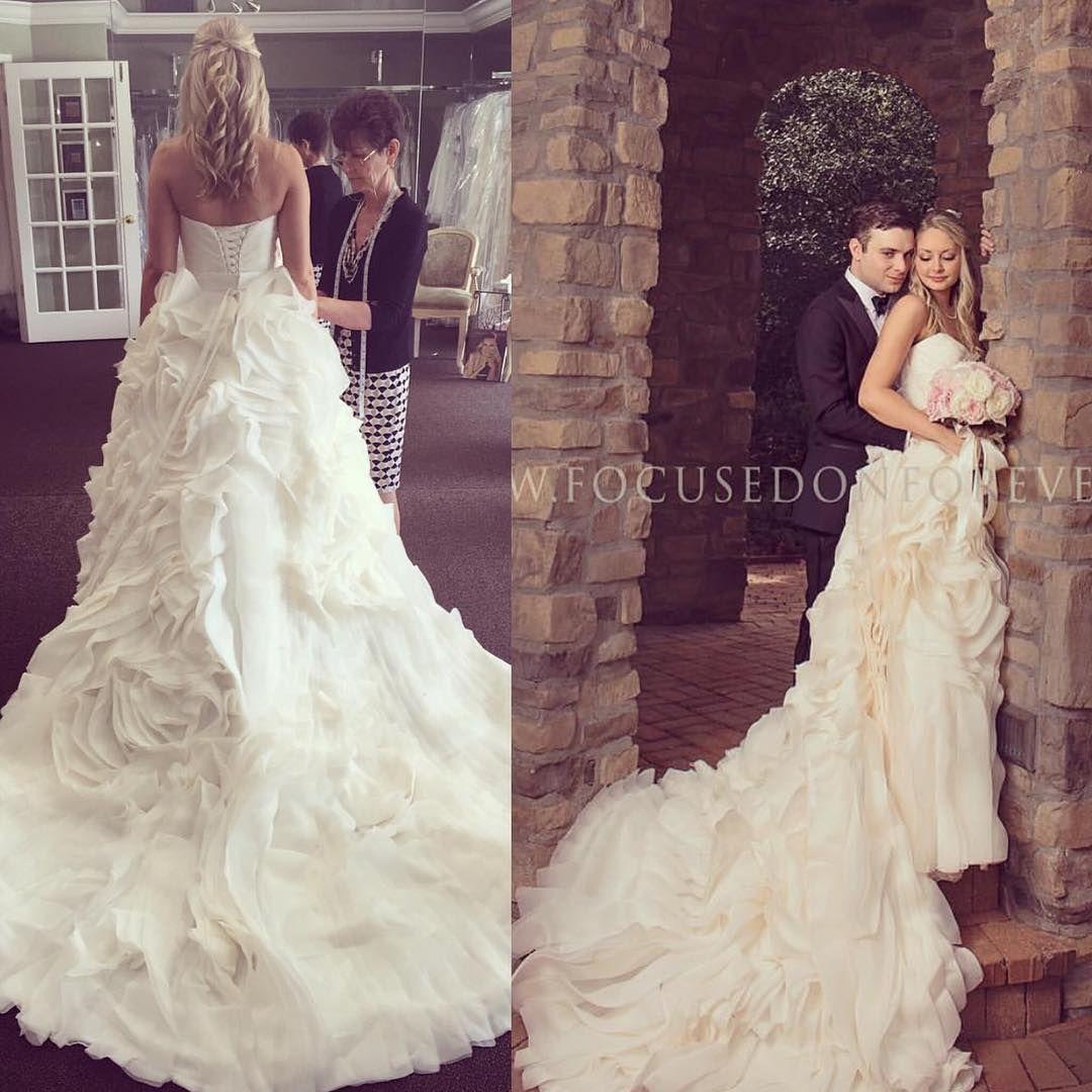 Maggie Sottero Wedding Dress; Maggie Sottero; @maggiesotterodesigns #juliettedress 🤗! Congrats Mrs. Crowley! #thecoordinatedbride #wedding #bride #maggiesottero #cramptongoescrowley