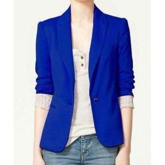 Blazer Suit Z - Azul R$89,00