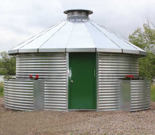 New Grain Bin Homes by Sukup - Green Homes gadgets Silo house