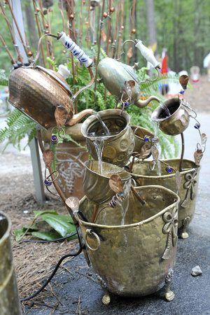 This garden art is by Rick Heard\'s Garden Originals in Murfreesboro ...