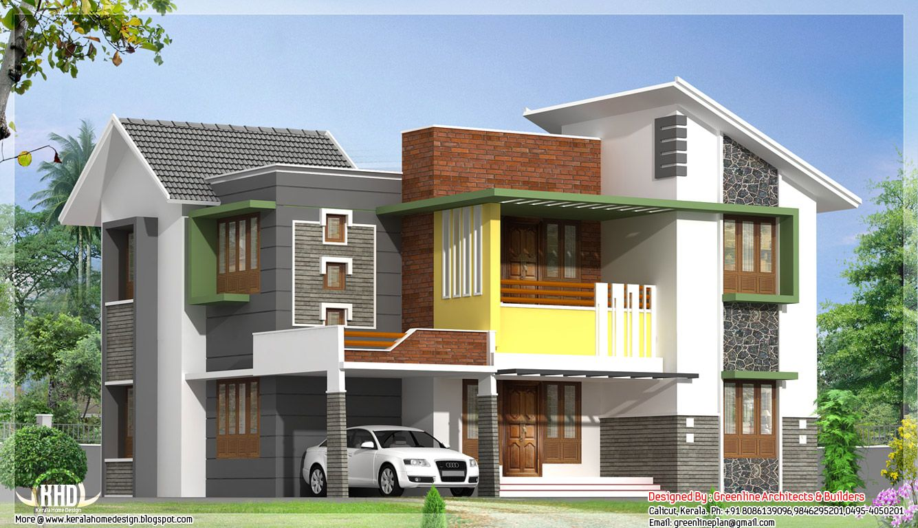 Modern and contemporary style 4 bedroom 2081