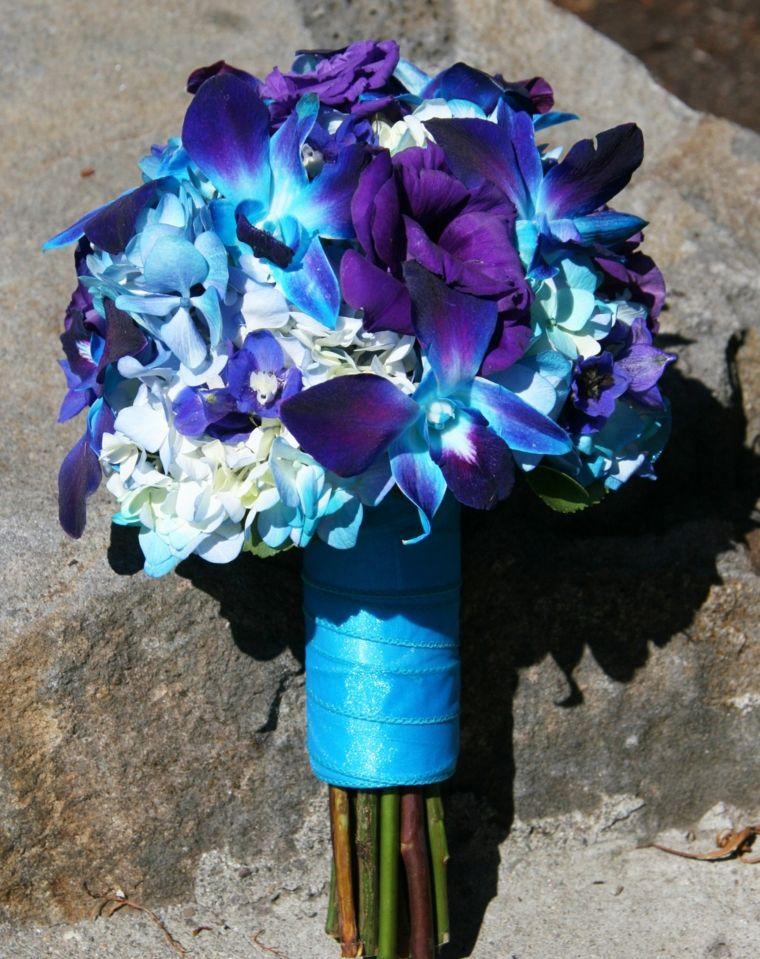 Mazzo Di Fiori Blu.85 Best Bouquet Sposa Images Bouquet Wedding Bouquets Flower