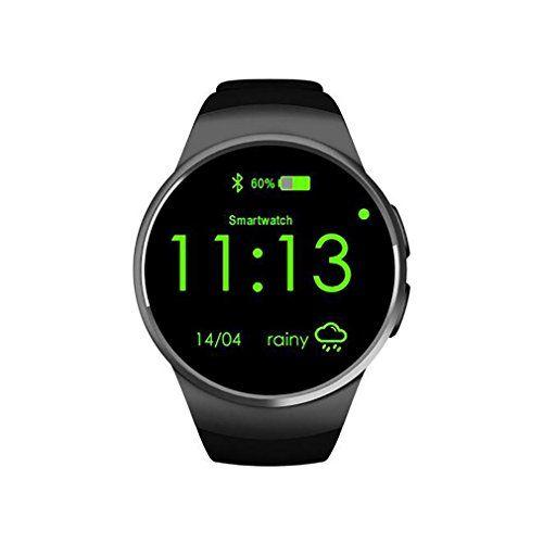 LLBluetooth Smart Watch Phone Round Wristwatch SIM 1.3