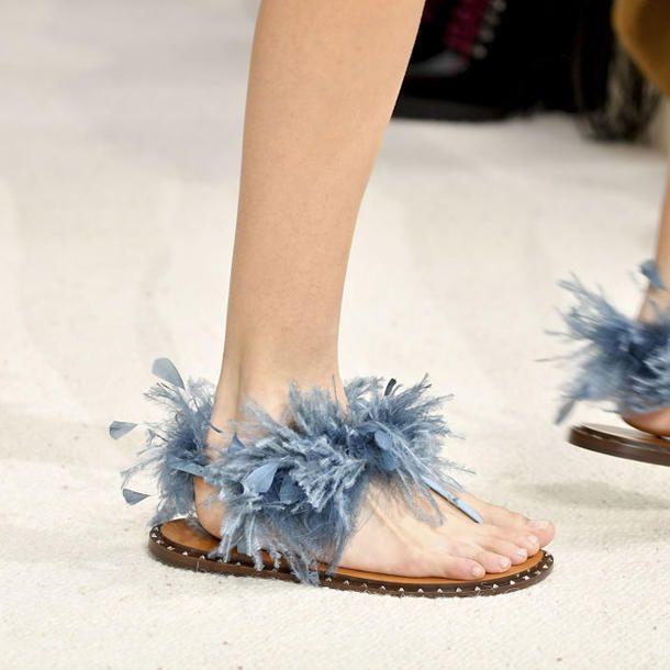 size 40 a1606 af33b Schuhe mit Fell und Federn in 2019 | BLUE PLUS SIZE Bˡᵘᵉ ...