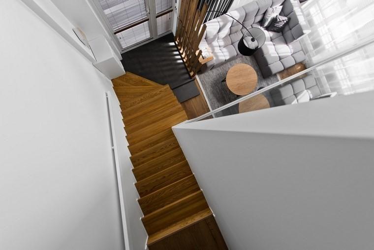 Sehr modernes Loft-Design im skandinavischen Stil Haus