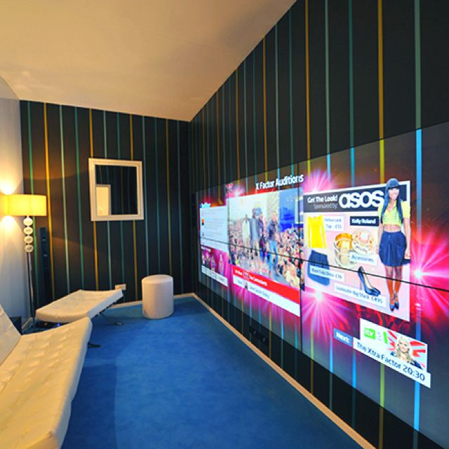 Superb LED Wallpaper TV   Yes Please! Surfaces, A TV Prototype, Makes It So Design Ideas