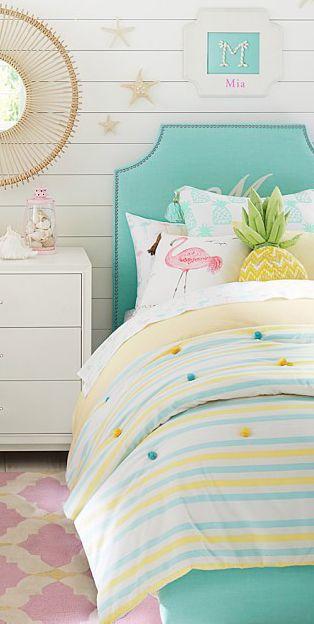 Girls Bedding Bedroom Design Ideas Beach Style Bedroom Girls