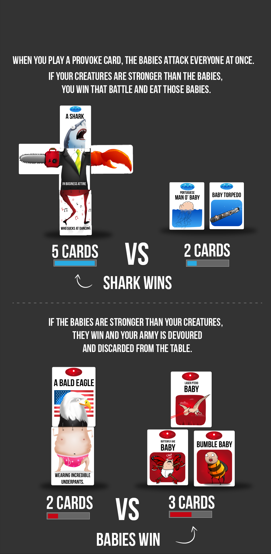 You go to war Exploding kittens, Card games, Cards