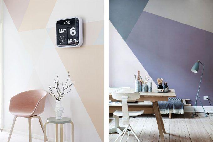 Modi Di Dipingere Le Pareti.Dipingere Le Pareti Di Casa In Modo Creativo 20 Idee Design