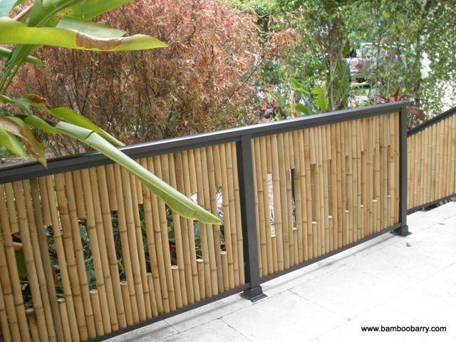 Grades e cercas de ferro e bamb proyecto - Cercas para jardin ...