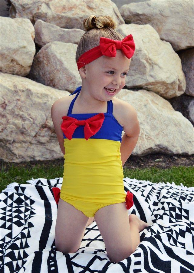 Mia Belle Baby | Skirted Rashguard One Piece Swimsuit (Toddler, Little Girls, & Big Girls) | HauteLook