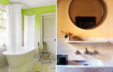 The Bold Bathroom 17 Ideas to Create a Colorful Loo Designs