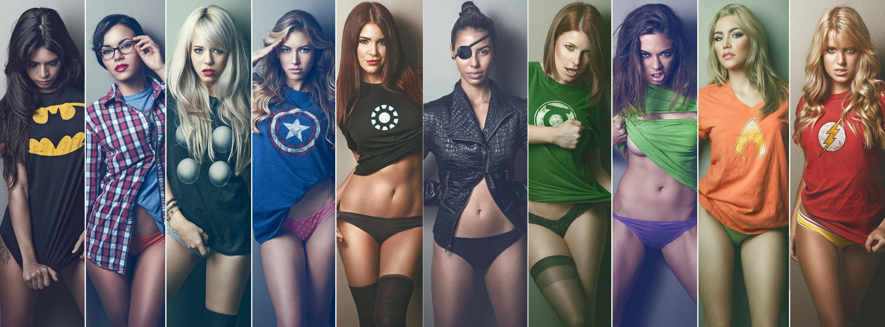 Really. Girls of marvel nude opinion