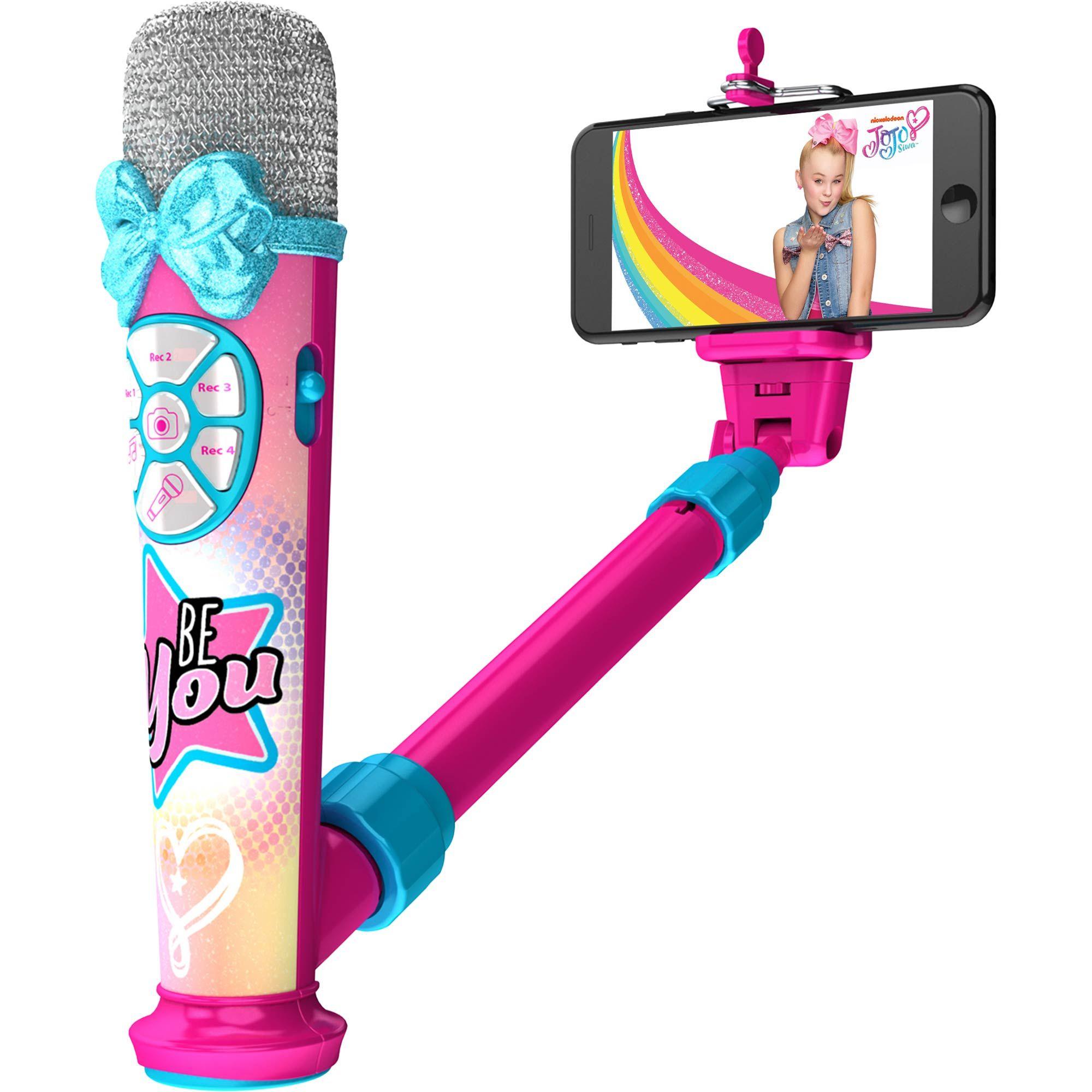 Jojo Siwa Childs Glitter Microphone