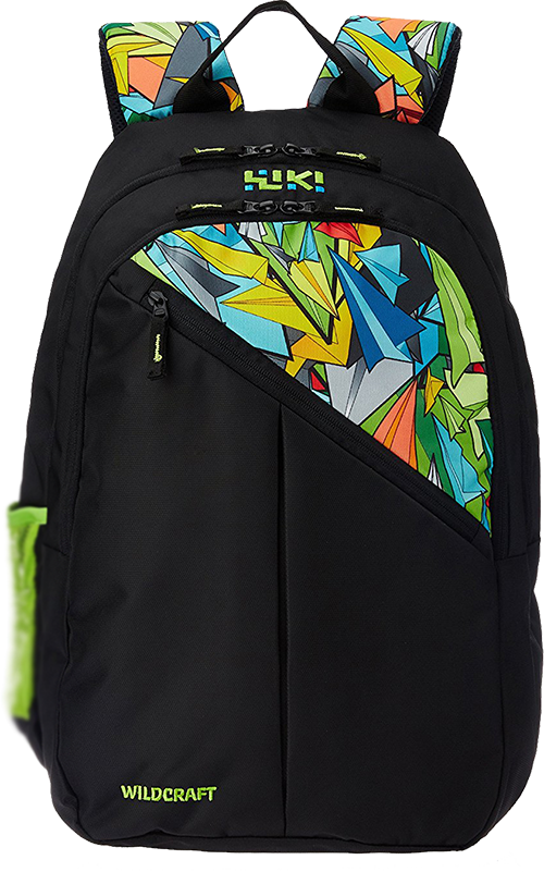 601d1a14b2 Buy Wildcraft 33 ltrs Black Casual Backpack (8903338054900) from Amazon.