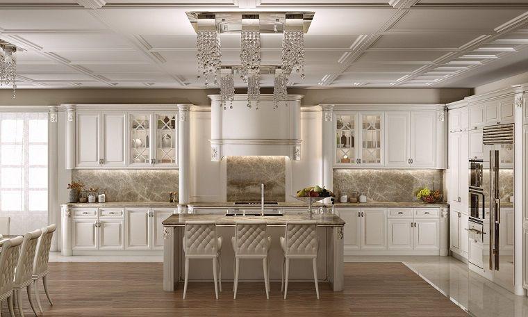 Cucine Classiche Bianche.Le Cucine Classiche Bianche Rappresentano Una Scelta