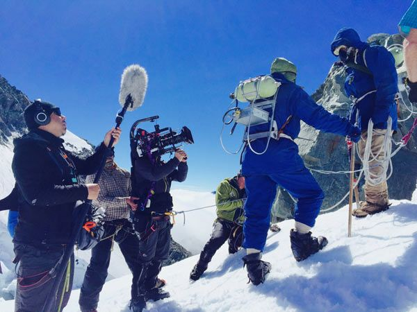 "Sony PMW-F55 CineAlta Digital Camera was Used by Cinematographer David Paul to Capture the Life of Adventurer Sir Edmund Hillary for the TV Drama ""Hillary"" on New Zealand's TV One in 2016:  Image Courtesy of Sony"
