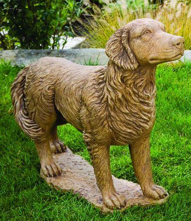 Golden Labrador Retriever Life Size Statue Dog Statue Life Size