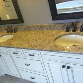 A Successful Granite Countertop Install Means The Owners Are Thrilled Bathrooms Remodel Granite Countertops Granite