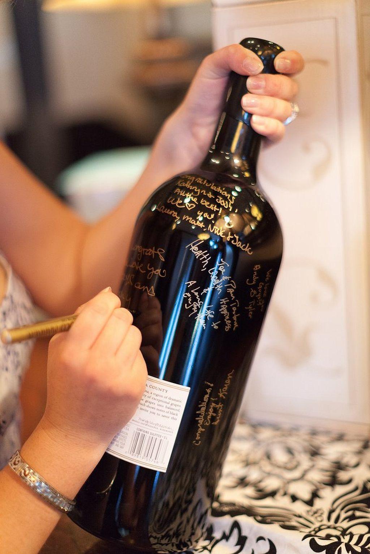 40 fun bachelorette party decor ideas bachelor parties for Cool wine bottle ideas