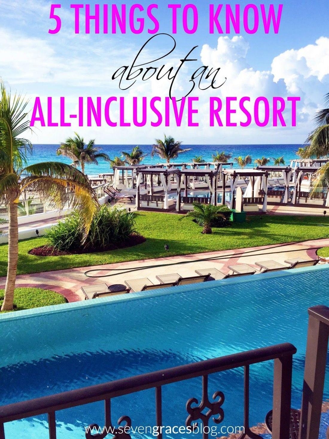 Cancun Trip 5 Things To Know About An All Inclusive Resort Our Cancun Recap