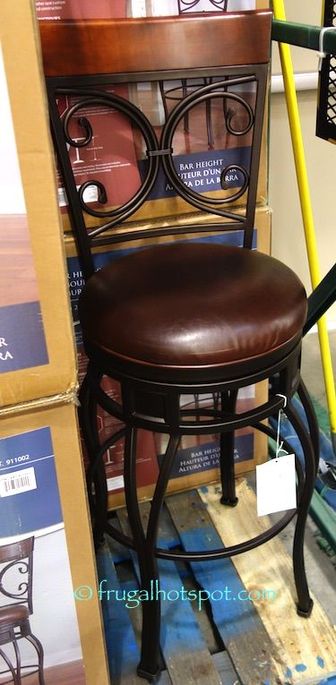 This Stool Fits Best With A High Table Or Counter. Costco Has The American  Heritage Swivel Bar Height Barstool On Sale For A Limited Time.