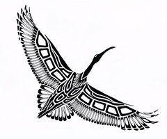 The scarlett ibis pride