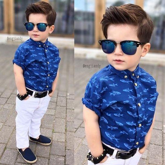 Como Vestir A Mi Bebe Ropa Para Niños Varones Moda