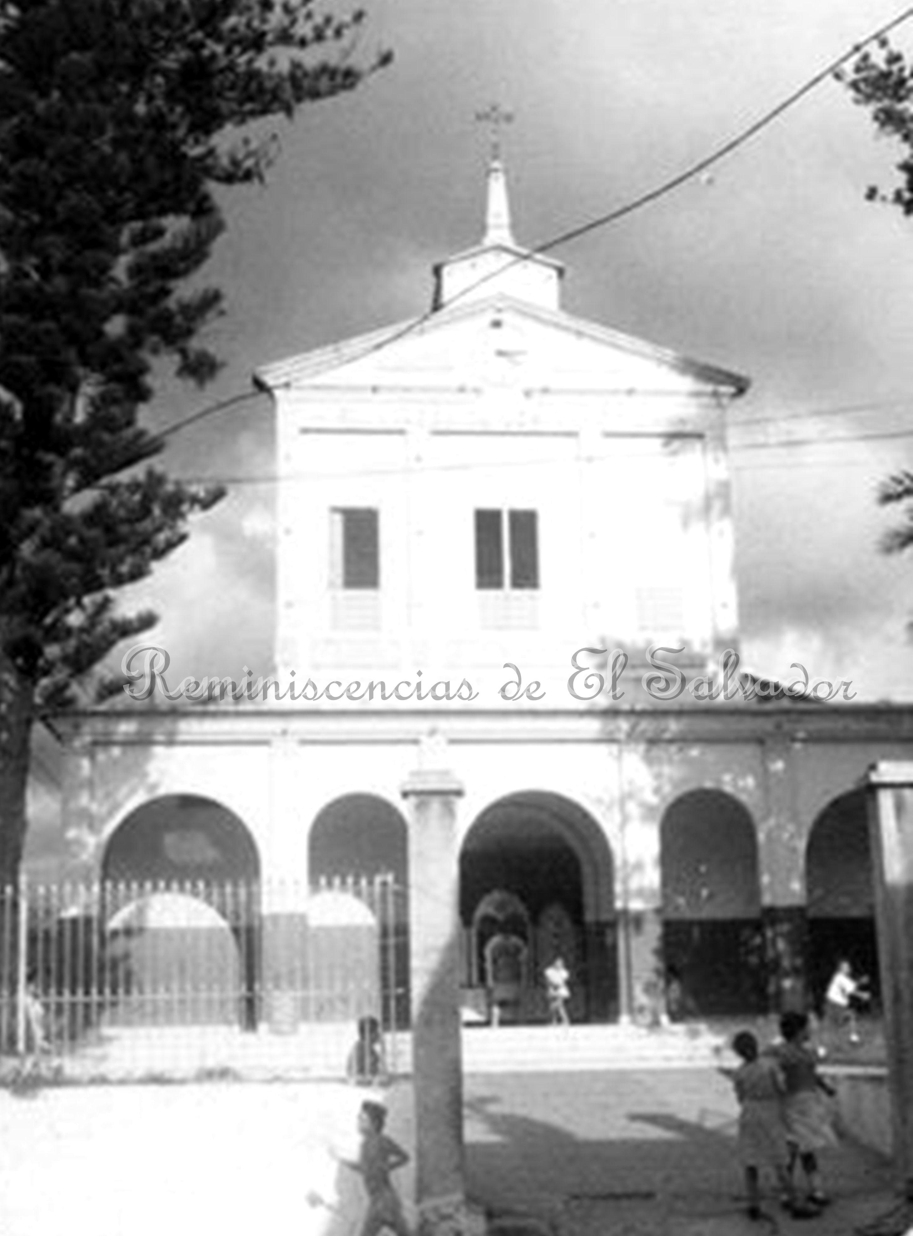 Antigua Iglesia del Barrio La Vega, San Salvador. Según los ...