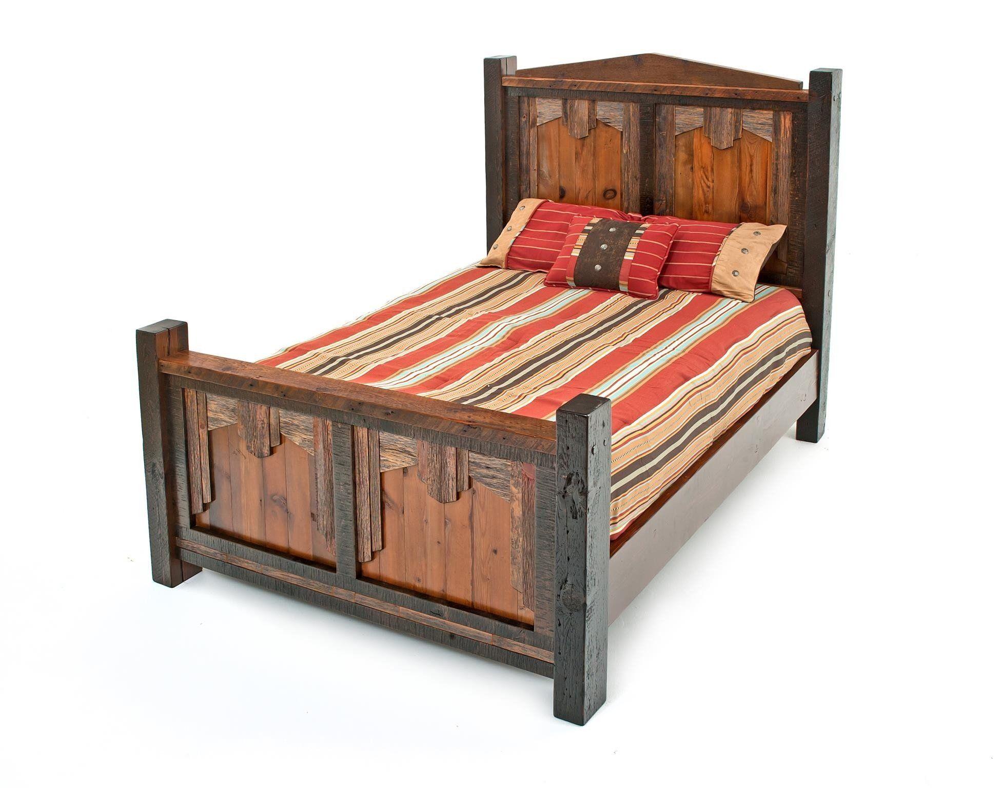 Rustic Barnwood Style Queen Bedroom Set With Headboard King Bedroom Sets Bedroom Sets Queen Rustic Master Bedroom