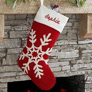buy personalized hooked crochet christmas stockings with custom embroidered name free personalization see more personalized christmas stockings at - Where To Buy Christmas Stockings