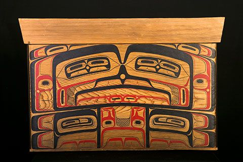 Haida Painted Bentwood Box 2 | Things for My Wall | Pinterest ...