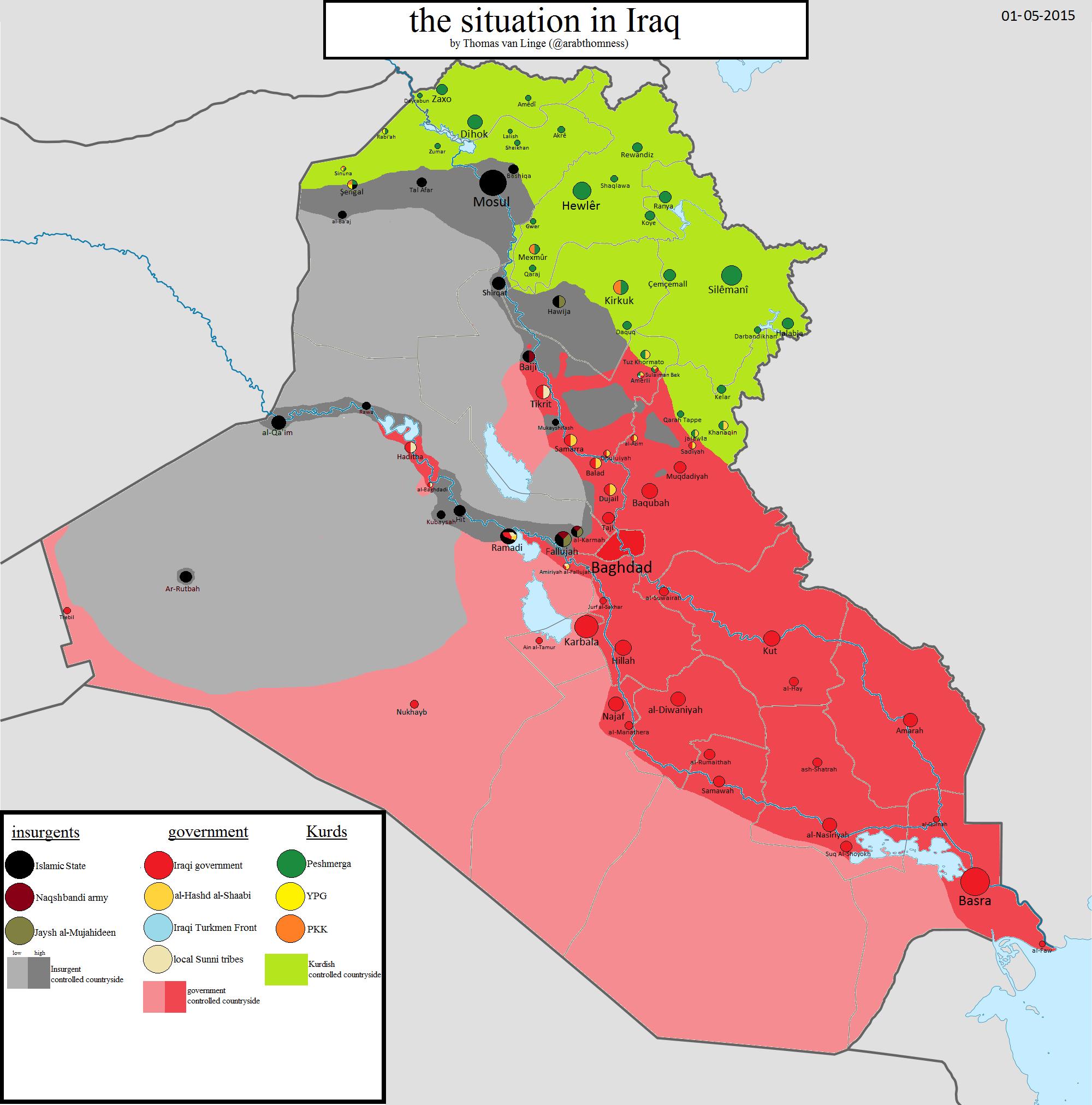 Iraq may 1 2015 | Syria Iraq | Pinterest