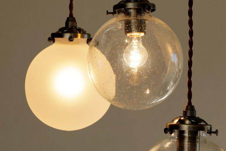ペンダントライト 1灯 ガラス Led シンプル Orelia S デザイン照明の