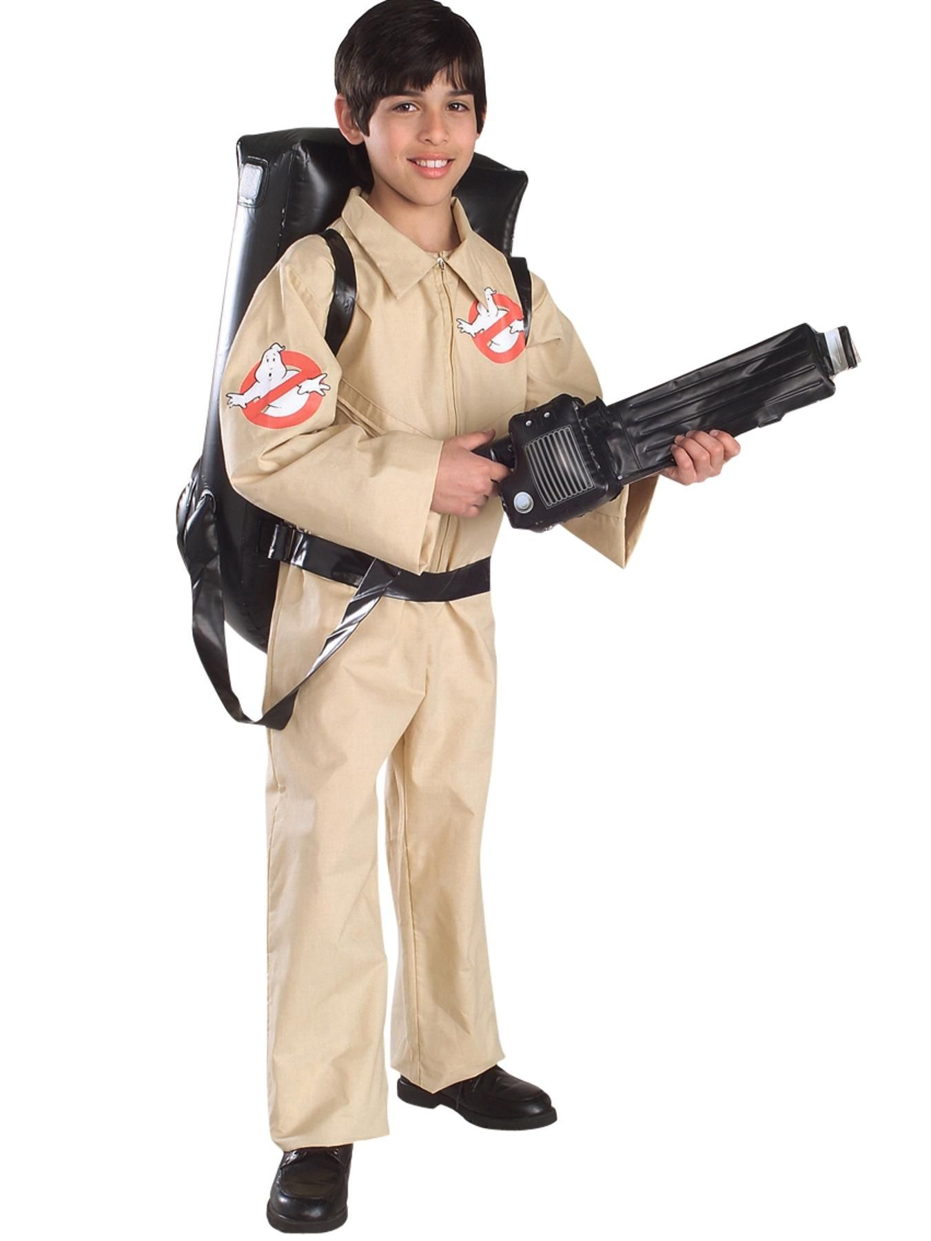 Mens Ghostbusters Halloween Costume Ghost Busters Jumpsuit Adult Size NEW