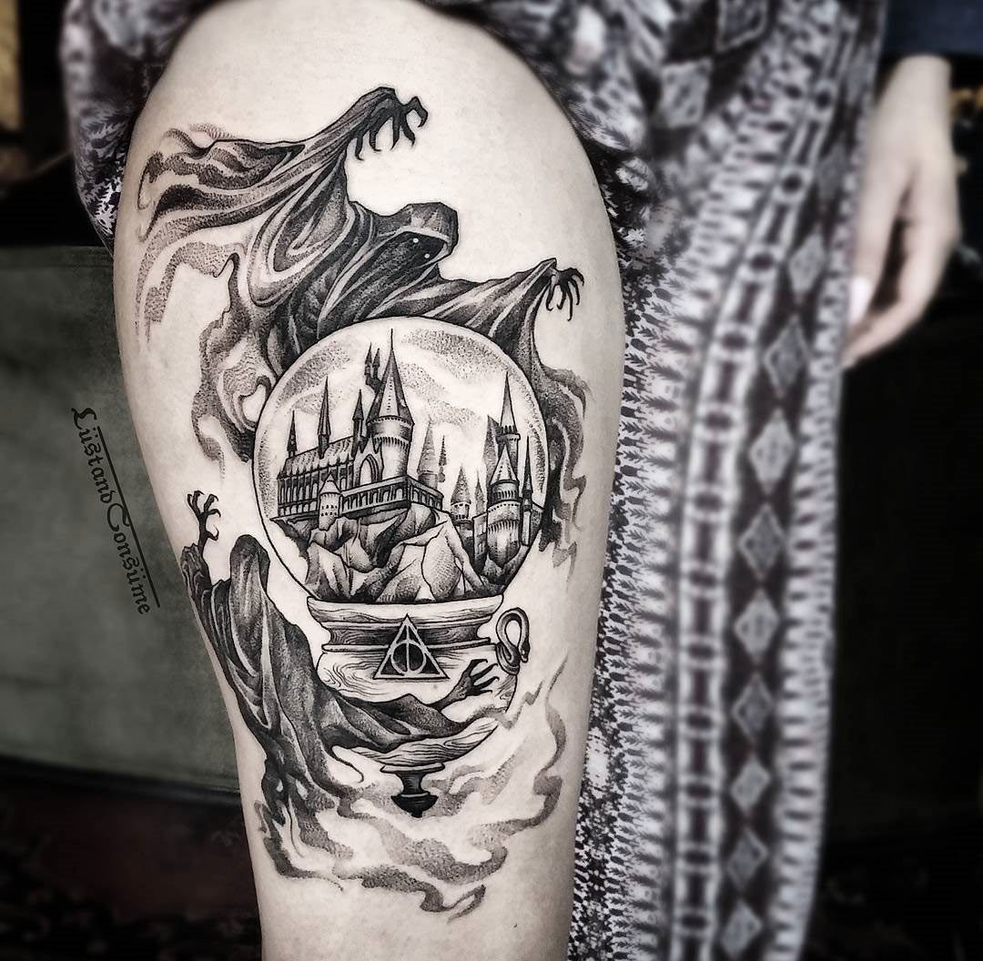 harry potter piece with dementors hogwarts hogwarts harry potter and tattoo. Black Bedroom Furniture Sets. Home Design Ideas