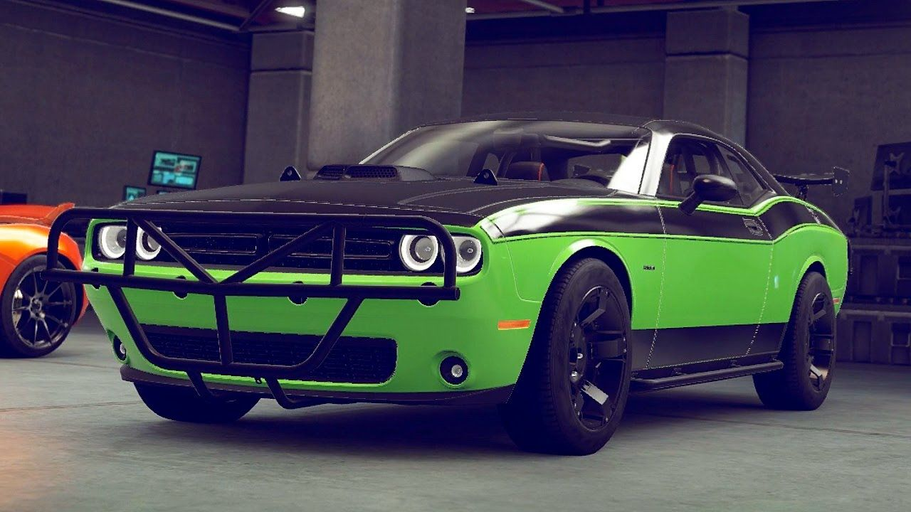 This Is The Dodge Challenger That Letty Drove In Furious7 Dodge