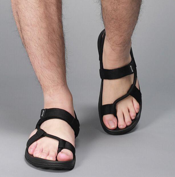 Mens beach shoes, Mens leather sandals