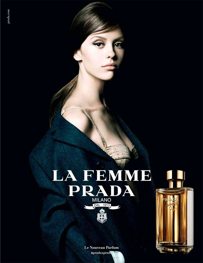 T La Prada Femme A Y PradaB E En 2016De Parfum Publicité Du U xBCedro