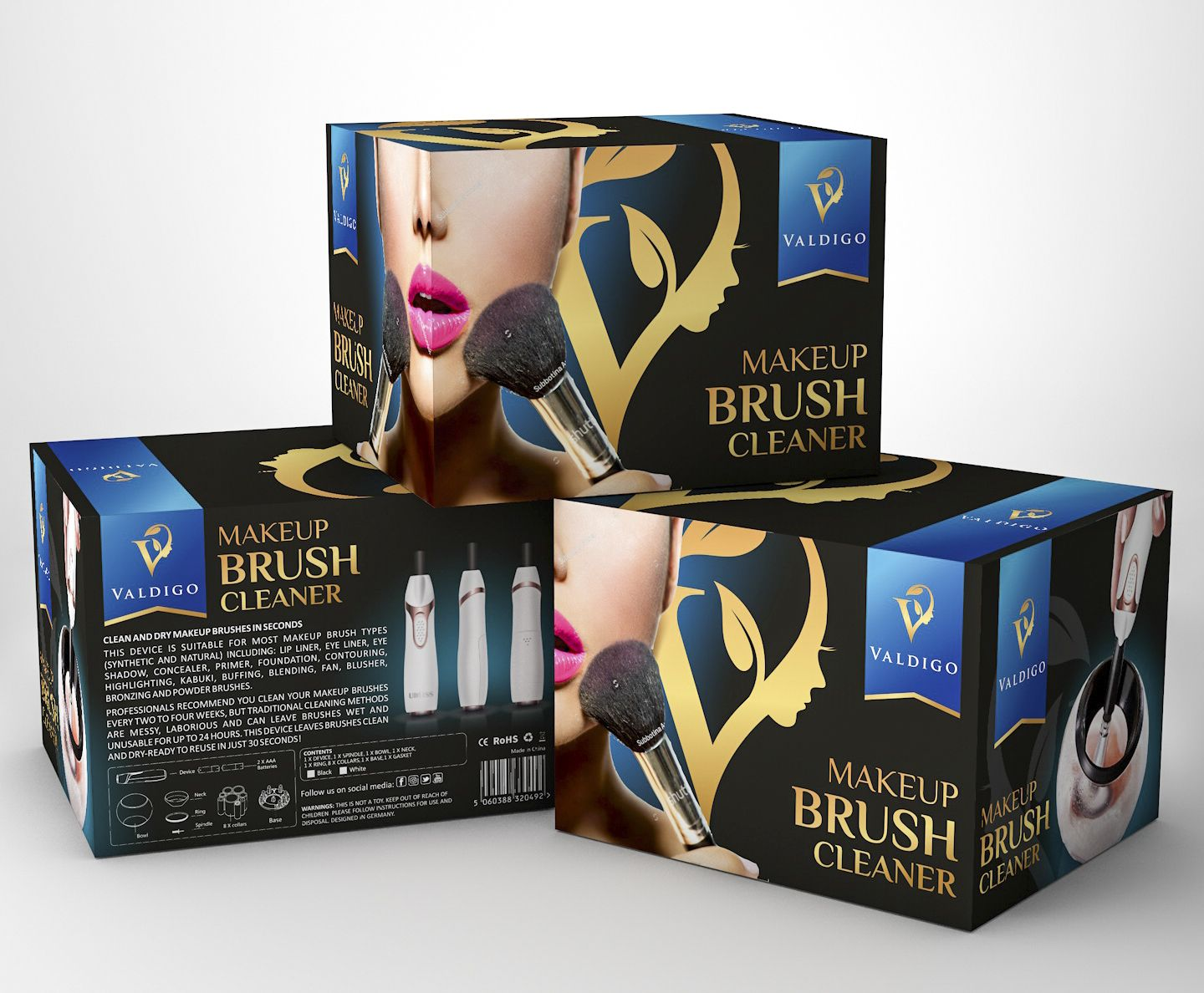 Luxury, premium package design for beauty, cosmetics