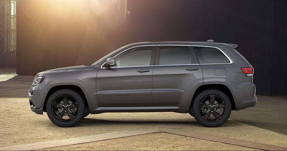 2016 Jeep Grand Cherokee High Altitude Side View Jeep