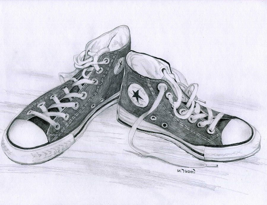 how to make converse shoes drawing value testers