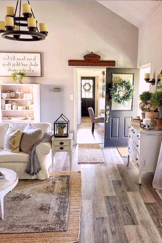 Wonderful Farmhouse Living Room Decor Design Ideas In 2020 Farmhouse Decor Living Room Farmhouse Living Room Furniture Living Room Sofa #small #farmhouse #living #room #ideas