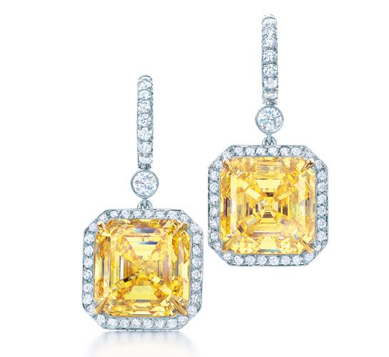 bague diamant jaune tiffany