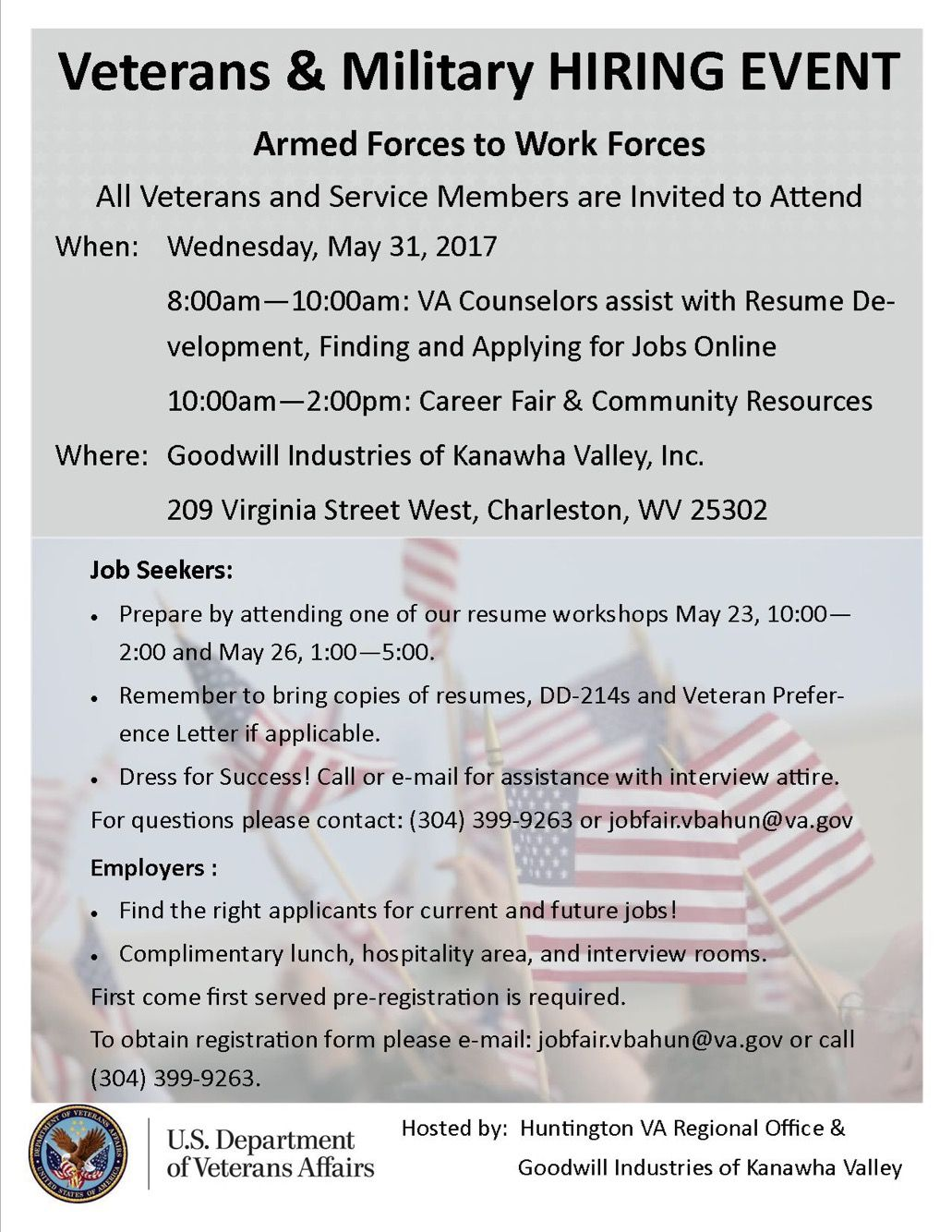 veteran s job fair at the prosperity center all veterans and