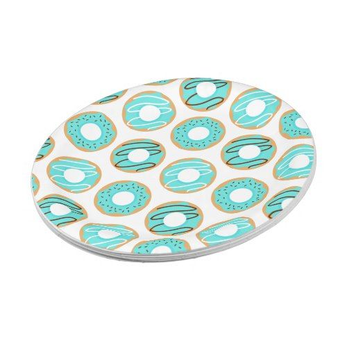 Blue Donuts Pattern Paper Plate  sc 1 st  Pinterest & Blue Donuts Pattern Paper Plate | Pattern paper Donuts and Donut ...